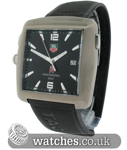 Tag Heuer Tiger Woods Professional Golf Watch Limited