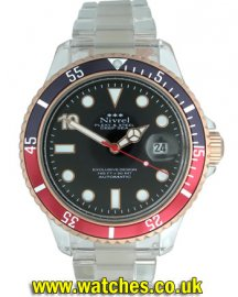 EmaS Diver Gold Black Dial Automatic