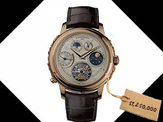 The Top 9 Most Expensive Watches in the World