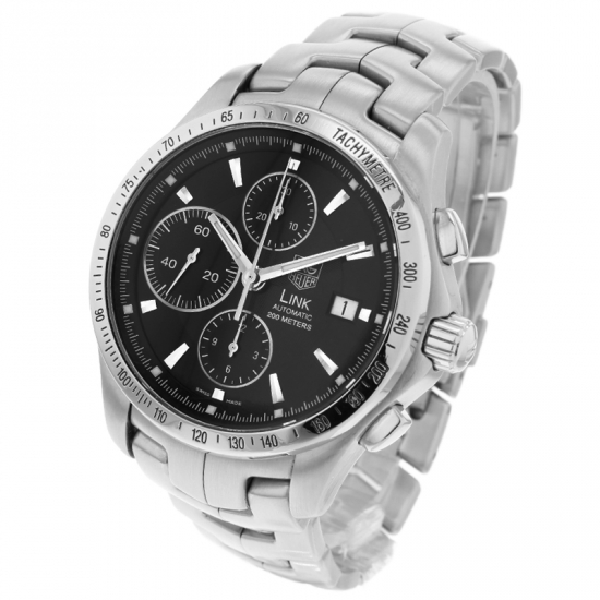 Tag Heuer Uk >> Tag Heuer Link Calibre 16 Automatic Chronograph Watch
