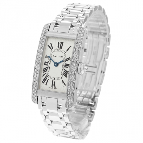 Cartier Ladies Tank Americaine 18ct