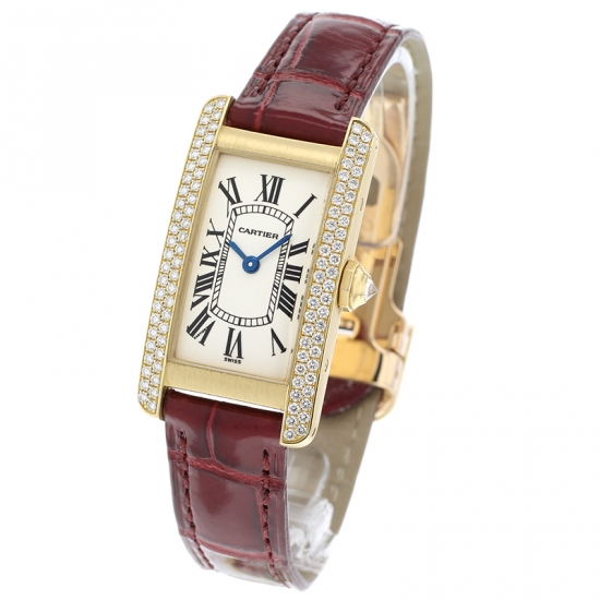 Cartier Tank Americaine 18ct