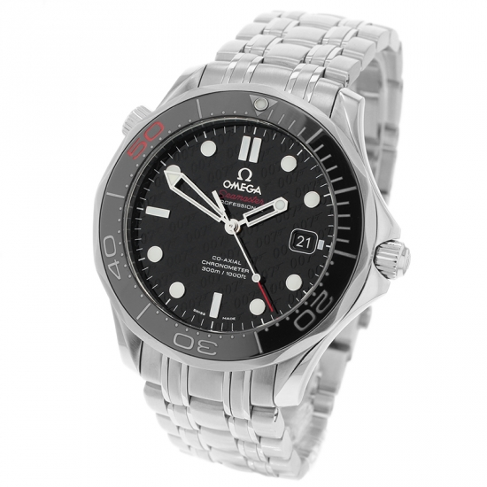 Omega Seamaster Professional James Bond 007 50th Anniversary Collectors Edition