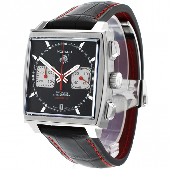 Tag Heuer Uk >> Tag Heuer Monaco Calibre 12 Limited Edition Watch Caw2119
