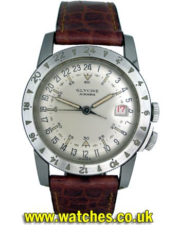 Vintage glycine divers watch