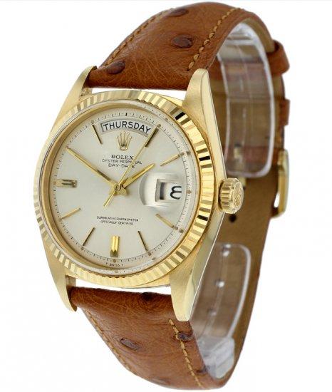 Rolex Day-Date President 118239 [Black Dial, Presidential Bracelet, V ...