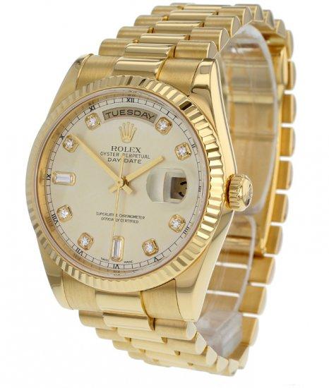 Rolex Day - Date 36mm , President Everose gold 118235. Thông tin ...