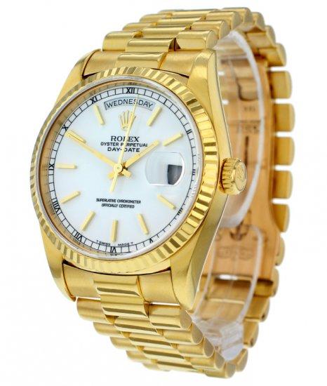 Rolex Day Date 18ct Watch 18238 Ref Rolex Watches