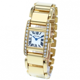 Cartier Tankissime 18ct Yellow Gold