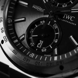 18669S IWC Ingenieur Chronograph Racer Close4