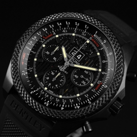 1871P Breitling Bentley 6.75 Midnight Carbon Limited Edition Close3
