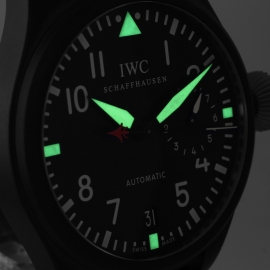 18886S IWC Big Pilots Top Gun Close9