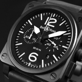 19798S Bell & Ross BR 03-94 Chronograph Close4 1