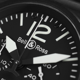 19798S Bell & Ross BR 03-94 Chronograph Close8 2
