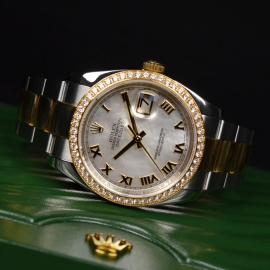 21460S Rolex Datejust Close10 1
