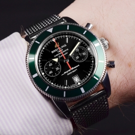 21486S Breitling Superocean Heritage Chronograph Wrist 1