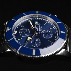 21491S Breitling Superocean Heritage II 46mm Chronograph Close4