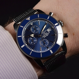 21491S Breitling Superocean Heritage II 46mm Chronograph Wrist