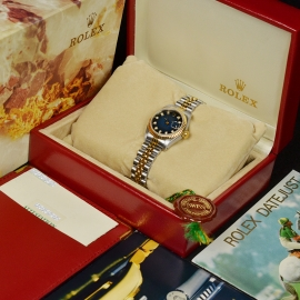 21492S Rolex Ladies Datejust Box