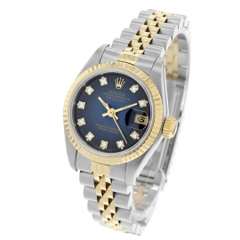 21492S Rolex Ladies Datejust Back
