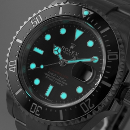 21500S Rolex Sea Dweller 50th Anniversary Close1