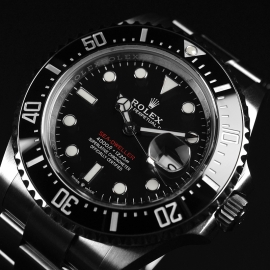 21500S Rolex Sea Dweller 50th Anniversary Close3