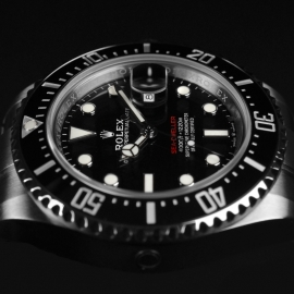 21500S Rolex Sea Dweller 50th Anniversary Close4