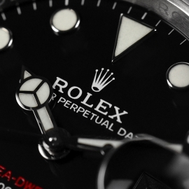 21500S Rolex Sea Dweller 50th Anniversary Close8