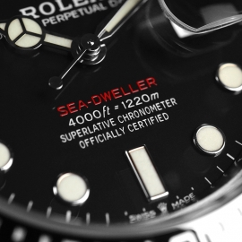 21500S Rolex Sea Dweller 50th Anniversary Close9
