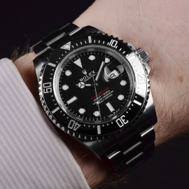 21500S Rolex Sea Dweller 50th Anniversary Wrist