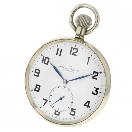 IWC Vintage Kriegsmarine Pocket Watch