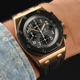 AP20490S Audemars Piguet Royal Oak Offshore Rose Gold Wrist 1
