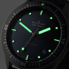 BL21450S Blancpain Fifty Fathoms Bathyscaphe Close1