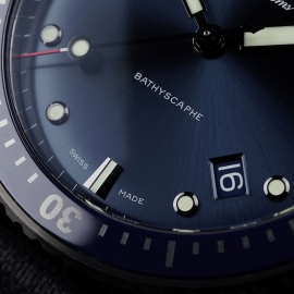 BL21450S Blancpain Fifty Fathoms Bathyscaphe Close6