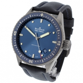 BL21450S Blancpain Fifty Fathoms Bathyscaphe Back