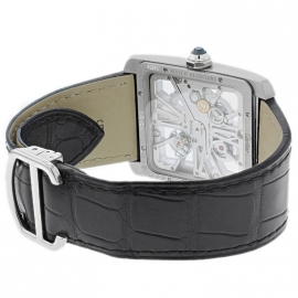 CA1812P Cartier Tank MC Skeleton Palladium Back