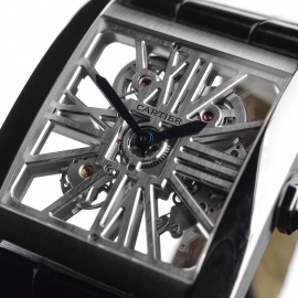 CA1812P Cartier Tank MC Skeleton Palladium Close10