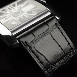 CA1812P Cartier Tank MC Skeleton Palladium Close2