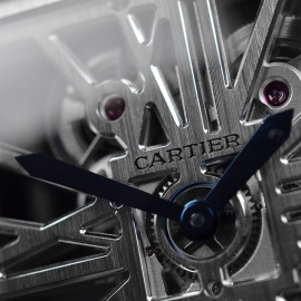 CA1812P Cartier Tank MC Skeleton Palladium Close7