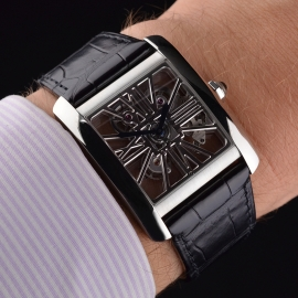 CA1812P Cartier Tank MC Skeleton Palladium Wrist