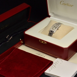 CA20269S Cartier Ladies Tank Americaine 18ct Box