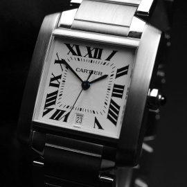 CA20453S Cartier Tank Francaise Large Size Close1
