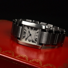 CA20453S Cartier Tank Francaise Large Size Close2 1