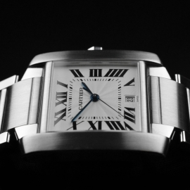 CA20453S Cartier Tank Francaise Large Size Close4