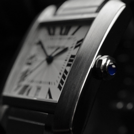 CA20453S Cartier Tank Francaise Large Size Close9