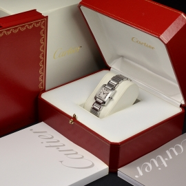 CA20834S Cartier Ladies Tank Francaise Small Model Box 1