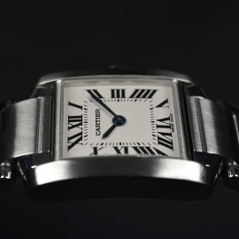 CA20834S Cartier Ladies Tank Francaise Small Model Close7 2