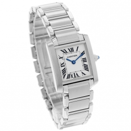 CA20834S Cartier Ladies Tank Francaise Small Model Dial 1