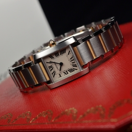 CA21161S Cartier Ladies Tank Francaise Small Model Close11
