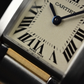 CA21161S Cartier Ladies Tank Francaise Small Model Close6